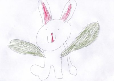 Bunny with Wings